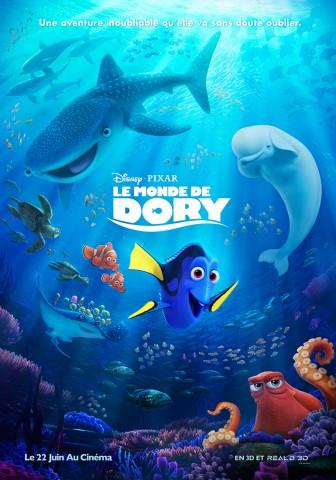 Affiche Monde de Dory (Le)