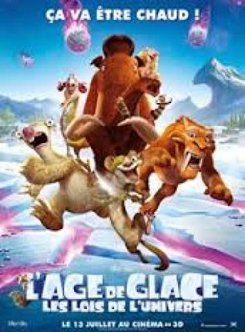 Affiche Âge de glace 5  (L') : les lois de l'univers