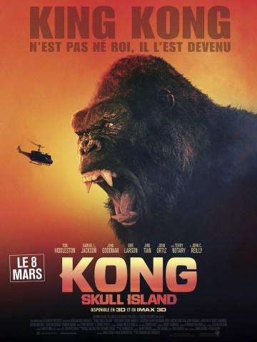 Affiche Kong : Skull Island 3D