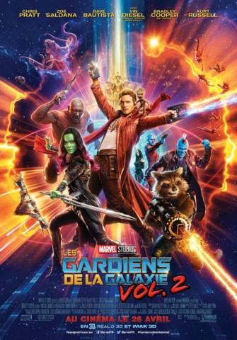 Affiche Gardiens de la Galaxie 2 (Les)