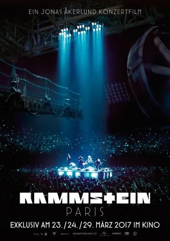 Affiche Rammstein : Paris