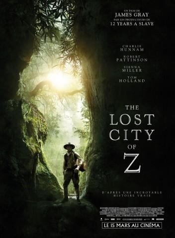 Affiche Cité perdue de Z (La)