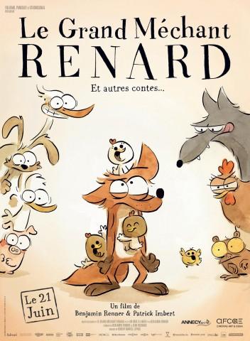 Affiche Grand Méchant Renard et autres contes (Le)