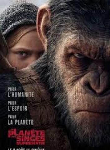 Affiche Planète des singes: suprématie (La)