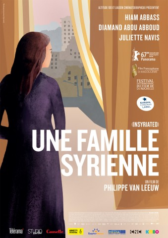 Affiche Famille syrienne (Une)
