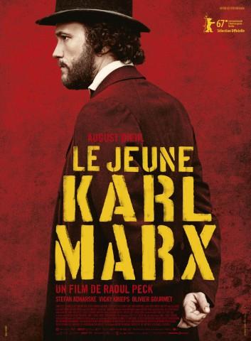 Affiche Jeune Karl Marx (Le)