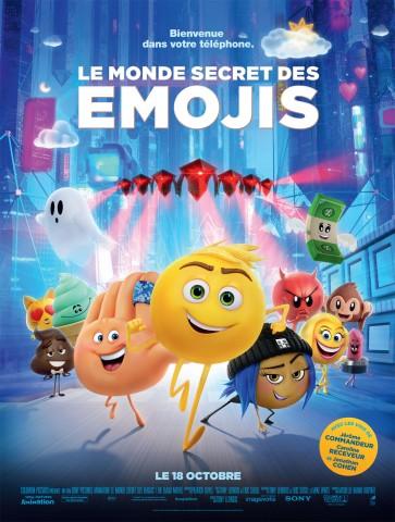 Affiche Monde secret des Emojis (Le)