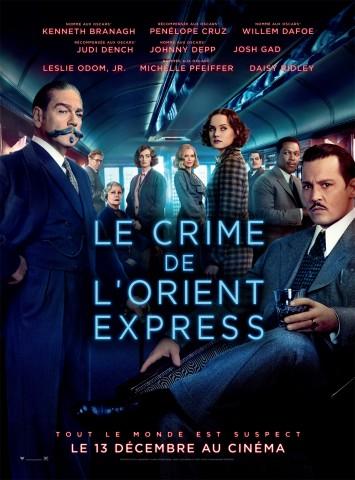 Affiche Crime de l'Orient Express (Le)