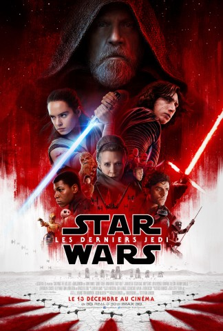 Affiche Star Wars, Les Derniers Jedi