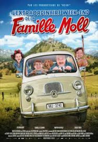 Affiche Extraordinaire Week-end de la famille Moll (L')