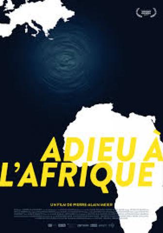 Affiche Adieu à l'Afrique
