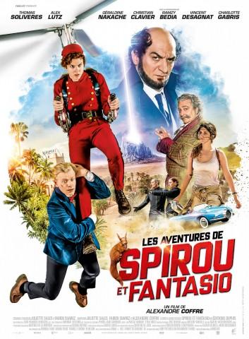 Affiche Les Aventures de Spirou et Fantasio