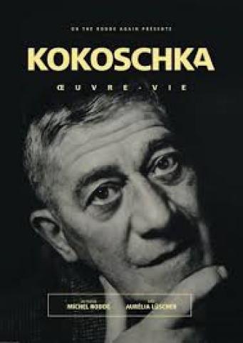 Affiche Kokoschka, œuvre-vie
