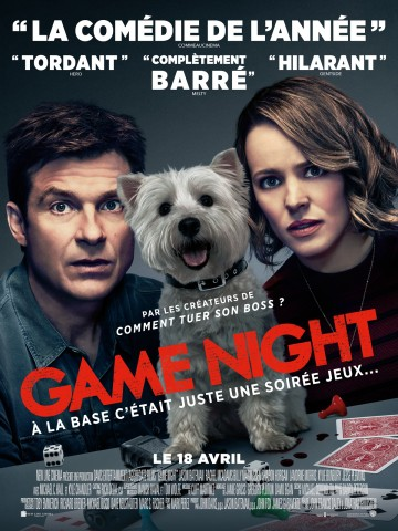 Affiche Game Night