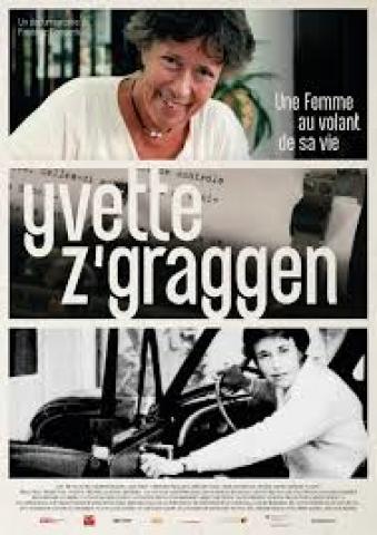 Affiche Yvette Z'Graggen - Une femme au volant de sa vie