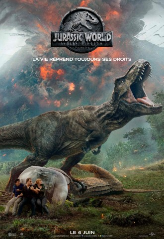 Affiche Jurassic World: Fallen Kingdom