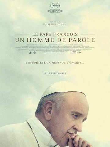 Affiche Le Pape François - Un homme de parole