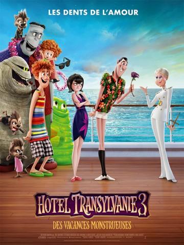 Affiche Hôtel Transylvanie 3 : Des vacances monstrueuses