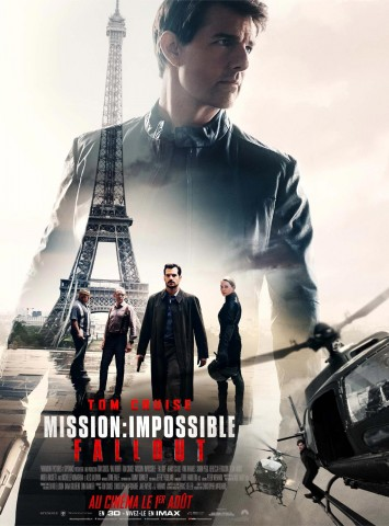 Affiche Mission Impossible - Fallout