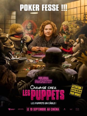 Affiche Carnage chez les Puppets