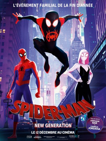 Affiche Spider-Man : New Generation