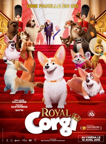 Affiche Royal Corgi