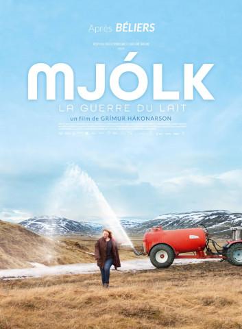 Affiche MJÓLK, La guerre du lait