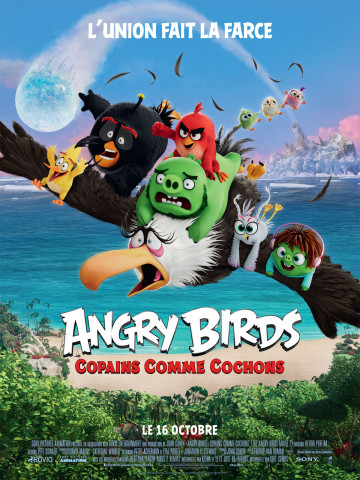 Affiche Angry Birds : Copains comme cochons