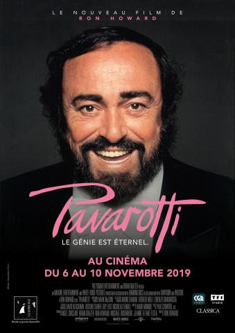 Affiche Pavarotti