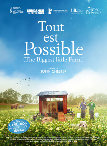 Affiche Tout est possible (The biggest little farm)