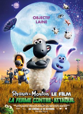 Affiche Shaun le Mouton Le Film : La Ferme Contre-Attaque