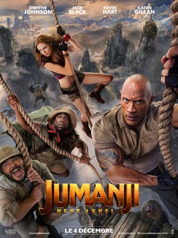Affiche Jumanji: next level