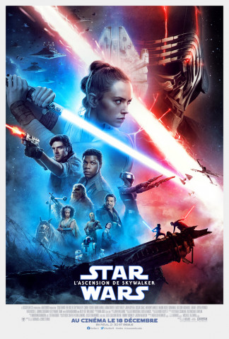 Affiche Star Wars: L'Ascension de Skywalker