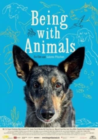 Affiche Être avec les animaux