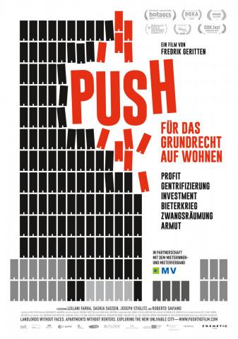 Affiche Push - Pour le droit au logement