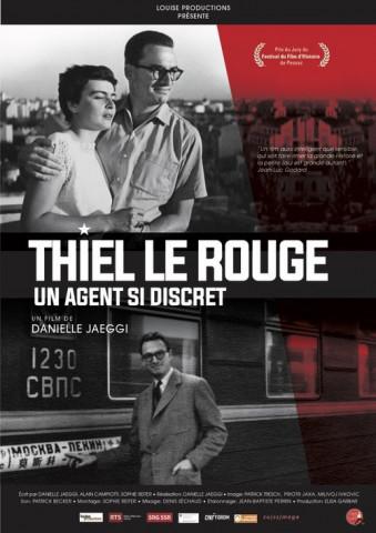 Affiche Thiel le Rouge - Un agent si discret