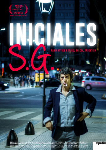 Affiche Initiales S.G.