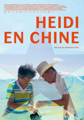 Affiche Heidi en Chine