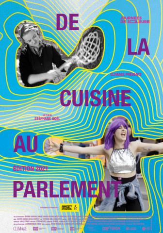 Affiche De la cuisine au parlement – édition 2021