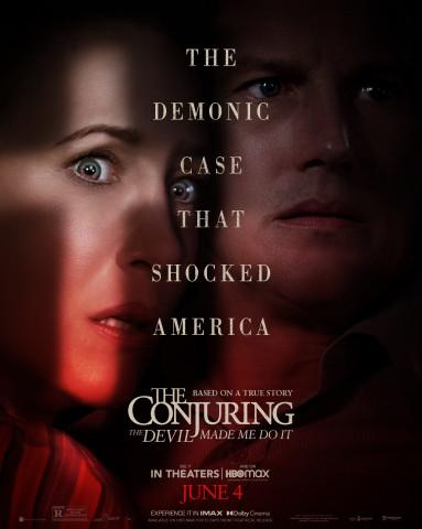 Affiche Conjuring 3 : sous l'emprise du diable