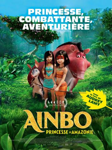 Affiche Ainbo, princesse d'Amazonie