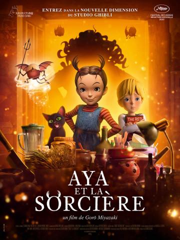 Affiche Aya et la sorcière
