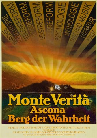 Affiche Monte Verità - L'ivresse de la liberté