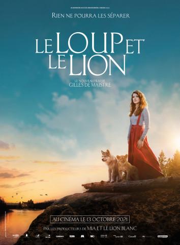 Affiche Le Loup et le lion